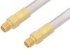 SMA Female to SMA Female Cable 18 Inch Length Using PE-SR401AL Coax -- PE3524-18 -- View Larger Image