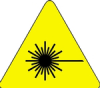 Warning Labels (Laser Beam; 2