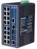16+2G Combo Port Gigabit Managed Redundant Industrial Ethernet Switch w/ Wide Temp -- EKI-7656CI-AE