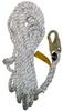3M 0221 0221-100 White Lifeline - 100 ft Length - 078371-00115 -- 078371-00115 - Image