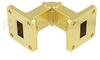 WR-62 Waveguide E-Bend Instrumentation Grade Using UG-419/U Flange With a 12.4 GHz to 18 GHz Frequency Range -- SMF-62EB-001 - Image