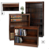 ERGOCRAFT Wood Veneer Bookcases -- 4084535