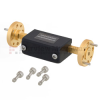 WR-10 Waveguide Attenuator Fixed 22 dB Operating from 75 GHz to 110 GHz, UG-387/U-Mod Round Cover Flange -- FMWAT1000-22 - Image