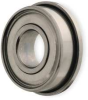 Mini Ball Bearing,Flanged,Bore 0.0469 In -- 1ZEV9