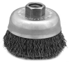 C2-3/4 125, 2-3/4 Inch Crimp Wire Cup Brush -- 43080
