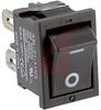 Switch, Rocker, Miniature, DPST, SolderTerminalS -- 70175938 - Image