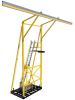 DBI-SALA FlexiGuard Yellow Counterweighted Fall Arrest System - 840779-10791 -- 840779-10791