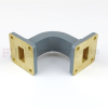 WR-62 Waveguide E-Bend Commercial Grade Using UG-419/U Flange With a 12.4 GHz to 18 GHz Frequency Range -- SMF62EB - Image