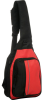 Vertical Slingpack -- 3486 - Red/ Black