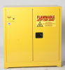 Eagle 30 gal Yellow Hazardous Material Storage Cabinet - 43 in Width - 44 in Height - Floor Standing - 048441-33110 -- 048441-33110