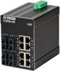 712FX4 HV Managed Industrial Ethernet Switch, SC 15km -- 712FXE4-SC-15-HV -Image