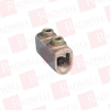 PANDUIT HC4-3 ( (PRICE/EACH) TWO-SET SCREW SPLICE WITH INTERNAL PRESSURE PLATE, COPPER, TYPE HC, #8 SOL - #4 STR. ) -Image