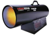 HEATSTAR HS170NG 170,000 BTU NG Portable propane forced air -- Model# F170180
