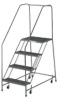 EGA 50 Stairway Slope Ladders with 2 to 4 Steps -- 7372802