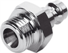 KS3-1/4-A Quick coupling plug -- 531666 -Image