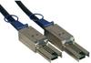External SAS Cable, 4 Lane - mini-SAS (SFF-8088) to mini-SAS (SFF-8088), 3M (10-ft.), TAA -- S524-03M - Image