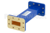 WR-137 Commercial Grade Straight Waveguide Section 6 Inch Length with CPR-137G Flange Operating from 5.85 GHz to 8.2 GHz -- PE-W137S002-6 - Image