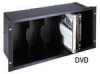 Middle Atlantic CD, DVD, and VHS Holder -- MD-HOLDER