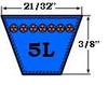 B82K / 5LK850 Kevlar Belt