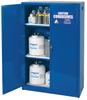 Acid & Corrosive Chemical Cabinet - 60 Gallon - Manual Doors -- CAB158