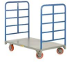 Double End Rack Platform Truck -- HDR-2448-6PY -Image