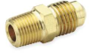 Male Connector,Flare,1/2 In Tube,PK 10 -- 1VDX8
