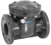 Swing Check Valve,6 In,Flanged,PVC -- 4GPP1