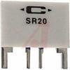 Resistor;Thick Film;Res 0.2 Ohms;Pwr-Rtg 2 W;Tol 1%;Radial;Kelvin;Curr-Sense -- 70089496