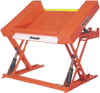 Ground Entry, Tilting Lift Table -- XZT Floor Level Lift & Tilt