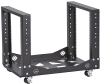 Mobile Open Rack - 4-Post, 11U -- RM215A