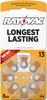 Mercury Free Hearing Aid Batteries Size 13 8-Pack -- L13ZA-8ZM