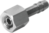 Barb tubing fitting -- C-1/8-P-6 -Image