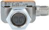 Through-beam sensor – receiver ifm efector OGE280 - OGE-DPKG/US/CUBE -- View Larger Image