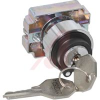 Selector Switch Operator, Key Lever, 2 Pos., Maintained (Left/Right), 22mm -- 70156743 - Image