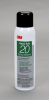 3M™ Heavy Duty 20 Spray Adhesive Clear, 20 fl oz can, Net Weight 13.8 oz, 12 cans per case -- 62491549200 - Image
