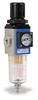 Pneumatic / Compressed Air Filter-Regulator: 1/8 inch NPT female ports -- AFR-2133-M