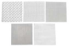 Wire Cloth Assortment,SS,6 Pc,6 x 6 In -- 3AJX5