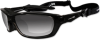 Wiley-X Brick Sunglasses with Polarized Smoke Lens and Gloss -- WX-857