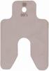 Precut s/steel shim stock,125x125x1mm -- 3827971