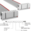Rectangular Cable Assemblies -- H3AAS-1606G-ND -Image