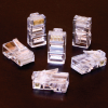 Plug RJ45 8C Solid/Stranded 50 Micro Gold -- 10-23063
