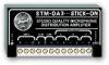 Mic Level Distribution Amplifier - 1x3 -- STM-DA3