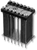 Elevated Display Socket with Collet Contacts on 0.300