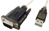 1' USB to DB9 Serial Converter -- 85-690