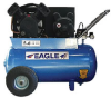 Eagle 3-HP 20-Gallon Single-Stage Portable Air Compressor -- Model P3120H1-CC