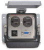 Size 32B Panel Interface Connector: (1) outlet, (1) DB9 -- ZP-PDA-32-200