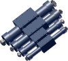 MAGTEC® Rodless Cylinder, Double Acting with Power Stroke in Both Directions -- 1740 - Image