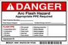 Label,Arc Flash,Pk5 -- 5RB62