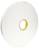3M VHB Tape 4959 White 0.75 in x 36 yd Roll -- 4959 WHITE 3/4IN X 36YDS -Image