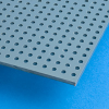 PVC-1 Gray Perforated Sheeting -- 45123